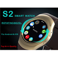 Bluetooth Smart Watch AS2 S2 Smartwatch ВРАЩАЮЩИЙСЯ ОБОДОК часы для apple iPhone Samsung для Android huawei xiaomi lenovo
