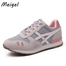 MEIGEL Fashion Brand Women Shoes Breathable Women's Casual Shoes Spring Autumn Girl Classic Tenis Walking Zapatos Mujer 458