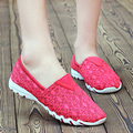Women's Classics summer style shoes women Breathable slip on flats casual ballet dress loafer