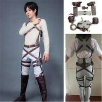 Anime Cosplay Attack On Titan Shingeki No Kyojin Recon Corps Harness Belt Hookshot Costume Halloween Party Adjustable Straps