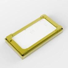 for iPhone XS MAX Metal Mold Set LCD Alignment OCA Laminating No Fold Flex Cable Pad