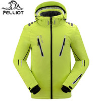 Free Shipping 2018 NEW Guarantee Authentic!Pelliot Male Ski Suits Jacket Men's , Thermal Cottom Padded Snowboard