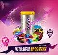 24 unidades de un suministro de Tailandia es marca suministros para los adultos ocho tipos de apelación Coqueteo condón condones de látex Natural condones