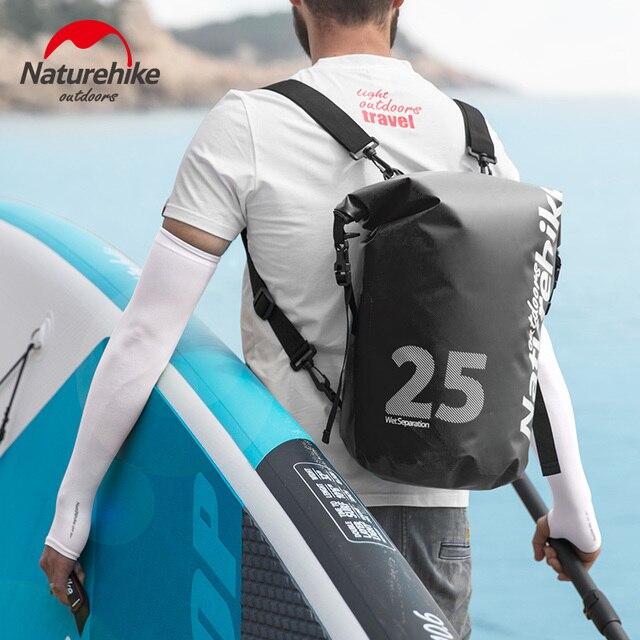 Waterproof 10L / 15L / 25L Dry Bag Roll Top Closure Adjustable Shoulder Strap Boating Kayaking Rafting Camping Fishing Storage