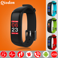Touch Color Screen Blood Pressure Heart Rate Monitor Smart Watch Smartwatch Swim Smart Clock Fitness Watch