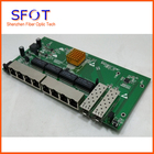 POE reverse Switch board, 8 port Full Gigabit WEB Managed Ethernet reverse poe switch with 2 SFP port