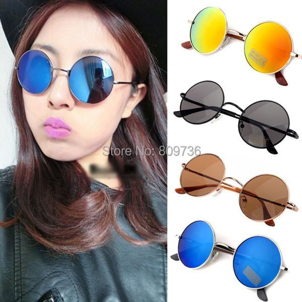 70ded8d789 Hot Summer Hippie Shades Hippy 60 S John Lennon Estilo gafas de Sol  Redondas de La Vendimia gafas de Sol Accesorios de Las Mujeres Libres en  Disfraces de ...