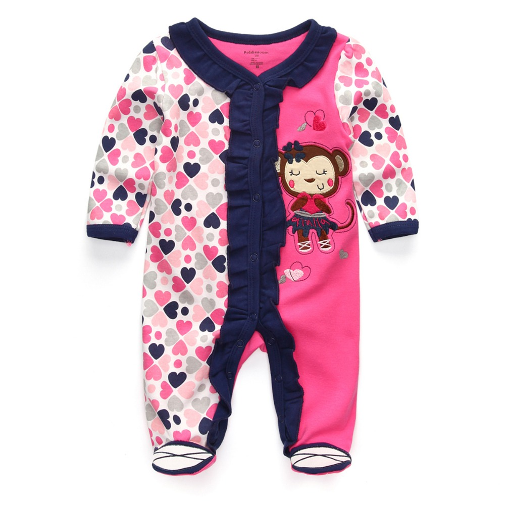 Aliexpress.com : Buy Baby Girls Rompers Clothing Cotton ...