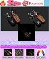 Автомобиль стайлинг детектор Световой Кожаной сумке ключи случаях брелок Бумажник умный/фолд для VW V01kswagen Новый CC & новый Magotan