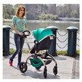 Europa Populares Nobre Alta Paisagem Tecido Modal Crianças Carrinho de Bebê Carrinho de Bebê Do Pram Do Bebê Carrinho de Bebê Dobrável