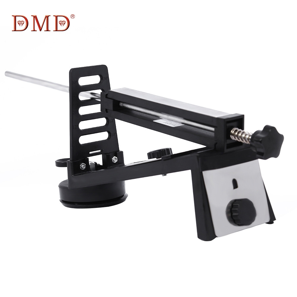dmd fixed angle knife sharpener professional chef knife sharpener kitchen sharpening system with. Black Bedroom Furniture Sets. Home Design Ideas