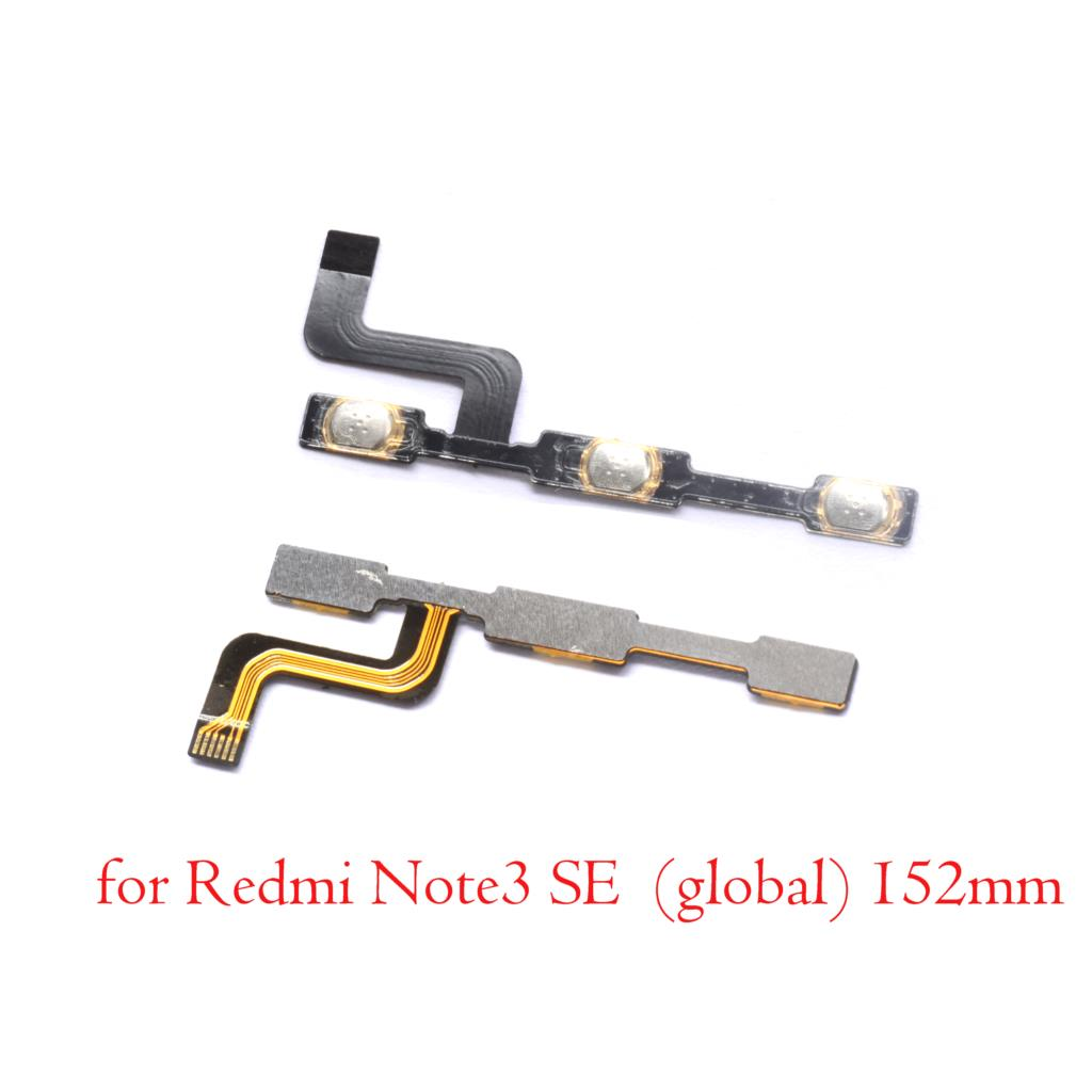 For Xiaomi Redmi Note 3 Pro Se 152mm Special Edition Power Volume Button Flex Cable Replacement Parts