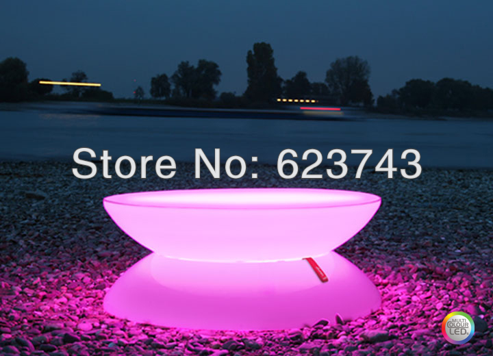 Led Illuminated Furniture Lounge Led Waterproof Led Table Led Coffee Table Rechargeable For Bars Christmas And Events