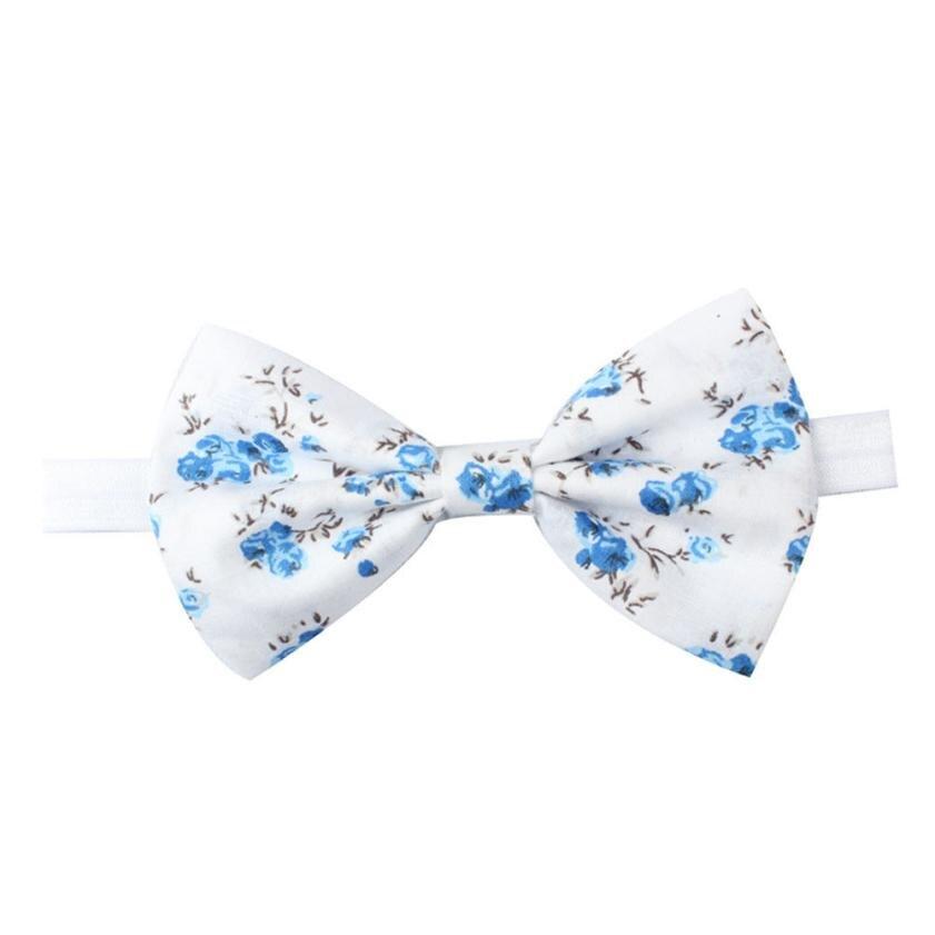 BMF TELOTUNY Fashion Print Newborn Toddler Kids Baby Girls Butterfly Headbands Headband Photography Props Mar2 Drop SHip