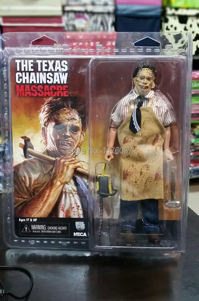 Vogue Famous Horror Movie The Texas Chainsaw Massacre Neca Leatherface Electric Saw Hammer Action Figure