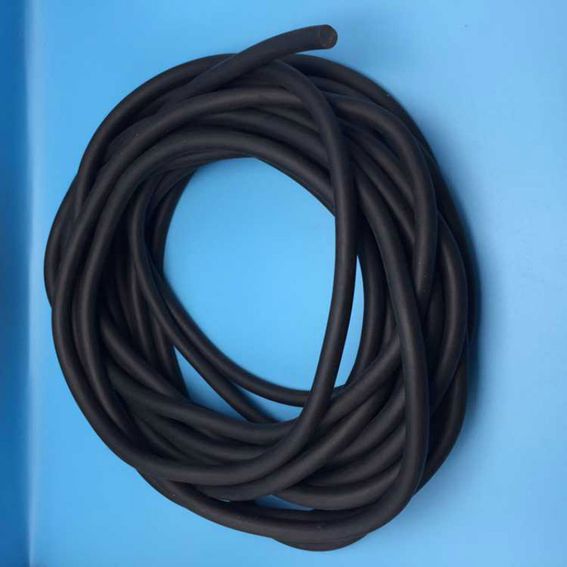 NEW 1- 8mm diameter round oil resistance abrasion resistance EPDM rubber foaming sealing strip