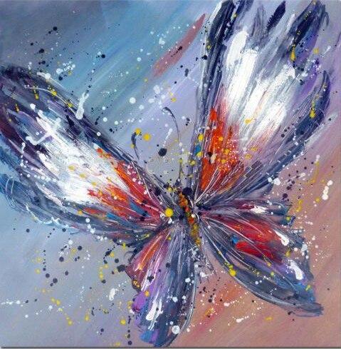 pinturas de mariposas compra lotes baratos de pinturas de mariposas de china vendedores de. Black Bedroom Furniture Sets. Home Design Ideas