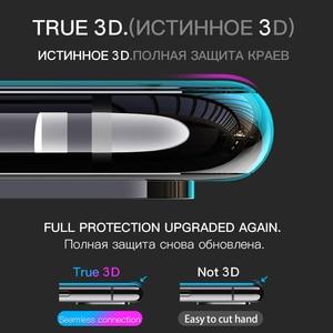 Image 2 - Hoco Full Cover Gehard Glas Voor Iphone 11 Pro Max Xr X Xs Max Screen Protector 3D Beschermende Glas Op voor Iphone 7 8 Plus