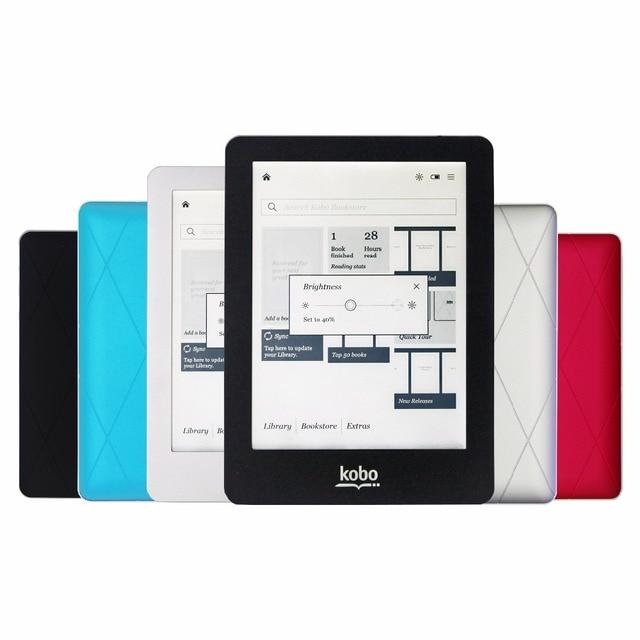 4 màu sắc eBook Reader Kobo glo N613 e-ink 6 inch 1024x768 2 GB Front-ánh sáng eReader