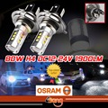 2x H4 HB2 LED 80W High Power Car LED Fog Daytime Running Low Beam Light Bulb Light Source 1900LM Strong Bright