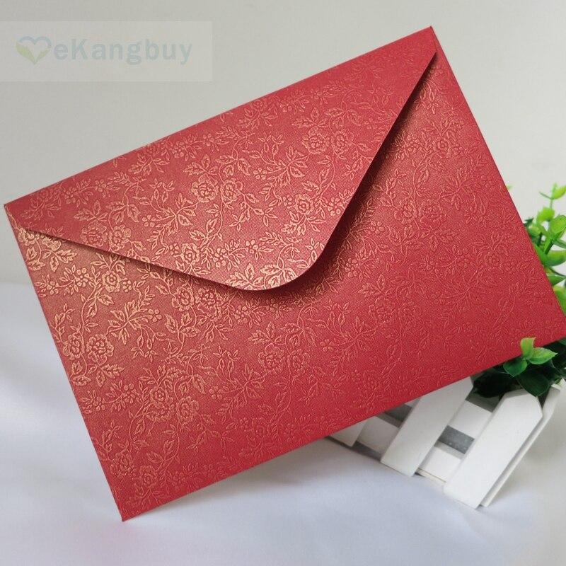 Qty 8 wedding envelopes Money envelopes Cash envelpes Floral red packets