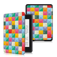 """Fashion Painted Case For Amazon All-New Kindle Paperwhite 2018 released Smart Cover for Kindle Paperwhite 6"""" 10th Generation(China)"""