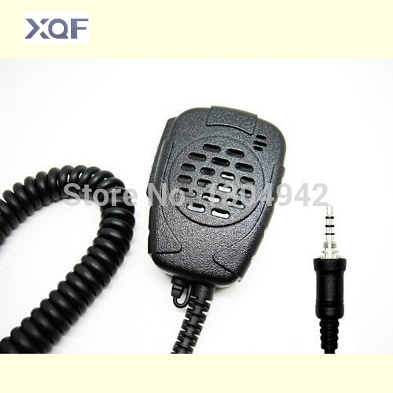 Shoulder Microphone Handheld Speaker Mic 1PIN For Yaesu / Vertex-Standard / Standard Horizon / Alinco Radio With Free Shipping