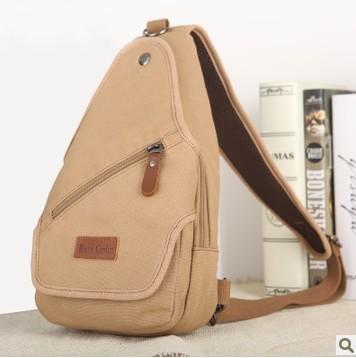 Designer messenger bag/single shoulder bag/casual brief bag/top quality canvas chest pack/trend body bag/free shipping