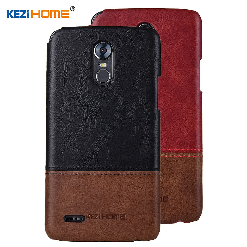Case for LG Stylus 3 Stylus3 KEZiHOME Luxury Hit Color Genuine Leather Hard Back Cover For LG Stylo 3 5.7 Phone cases