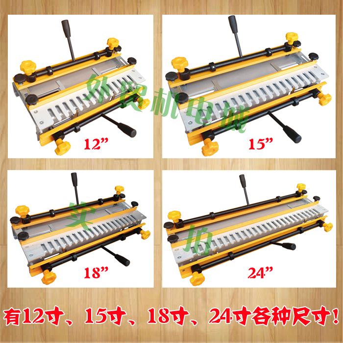 Woodworking Half-through Dovetail Tenon Machine Opening Tenon Clamper Opening Orifice CNC Formwork Parts Slotting Mold