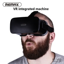 REMAX RT-V02 Headset 3D VR Glasses Ultra Light Virtual Reality Glasses All In One 95 Degree Visua Angel Anti vertigo 3d glasses