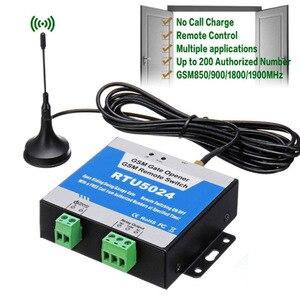 Image 2 - RTU5024 GSM Tiếp SMS Gọi Bộ Điều Khiển Từ Xa GSM Cổng Dụng Cụ Mở Công Tắc Điều Khiển Thiết Bị Gia Dụng (Rtu 5024) bãi Đỗ Xe Hệ Thống