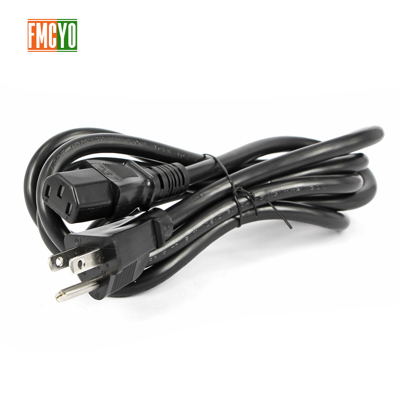 Image 3 - US 2m 3m 2 pin Round AC US Plug Power Cord Cable Lead For Computer/Printer/Rice Cooker-in Computer Cables & Connectors from Computer & Office