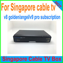 Singapore starhub box renewal subscription for v7 V8 golden V9 pro V8 angel blackbox c801 plus Gtt Zgemma LC RENEW yearly(China)