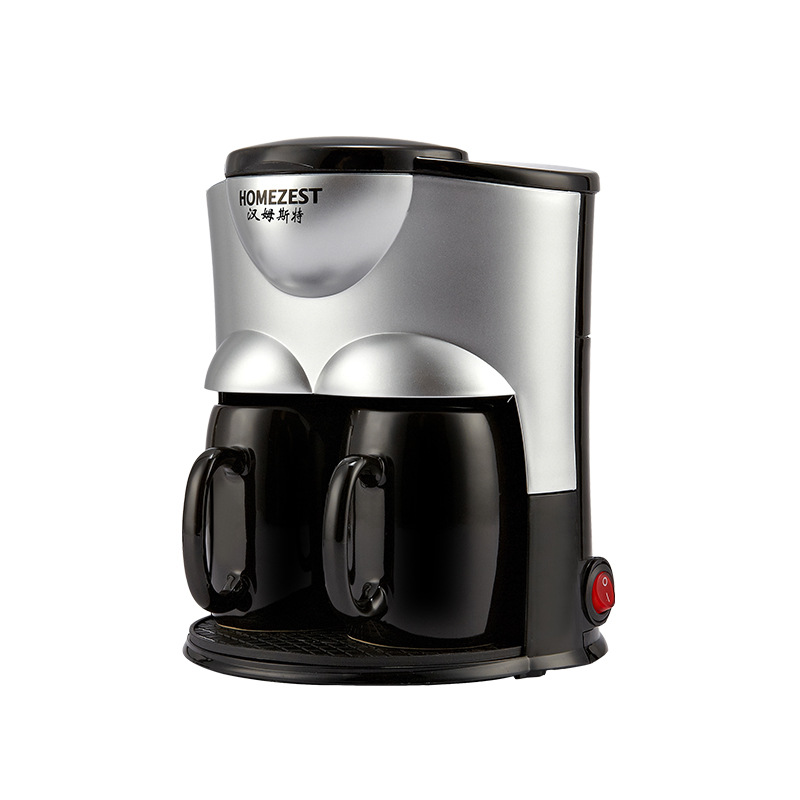 Drip Automatic Coffee Machine Portable Single Double