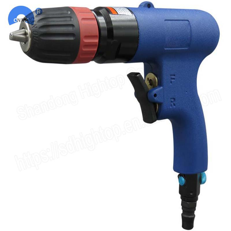 10mm pneumatic drills Reversible pistol drill speed w/3/8 pneumatic drill gun image