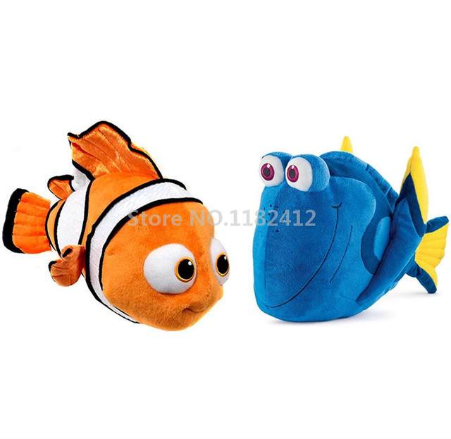 Finding Dory Plush Toy Nemo Dory Stuffed Animals Cute Clownfish Fish