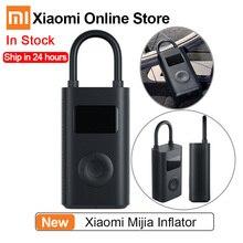 Xiaomi Mijia Inflator 압력 디지털 모니터링 압축기 타이어 Smart Home 용 휴대용 내장 배터리 멀티 노즐