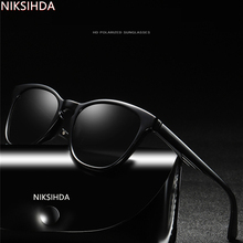 NIKSIHDA  2019 New type of sunglasses for men and women polarizers the same European American RETRO SUNGLASSES