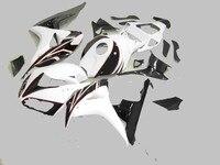 km body parts for white black fairings CBR1000RR 06 07 motorcycle fairing kit CBR 1000RR 2006 2007