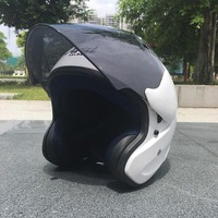 Factory Directly Sale Motorcycle Helmet Good Quality ABS Material Male And Female Helmet Half Open Face