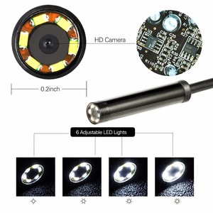 Image 5 - 1/1. 5/2m 5.5mm Len USB OTG wąż z systemem Android kamera endoskopowa IP67 wodoodporny 6 diody led kontroli kamera do rur boroskop do komputera telefonu