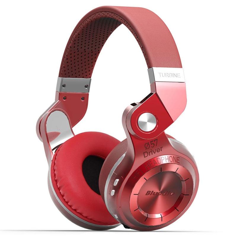 Original bluedio T2S (Tiro freno) auricular Bluetooth BT Versión 4.1 incorporado MIC auricular Bluetooth para llamadas y música
