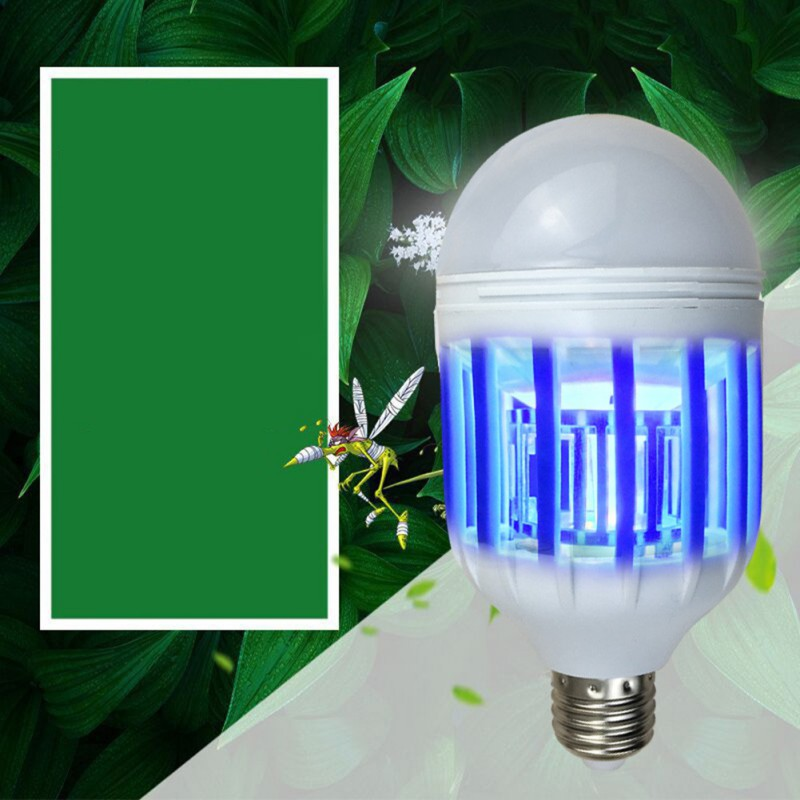 Mosquito Killer Lamp 2 In 1 Led Bulb Electric Trap Mosquito Killer Light 110v/220v 15w Electronic Anti Insect Bug Led Night Lamp Beneficial To Essential Medulla Lights & Lighting
