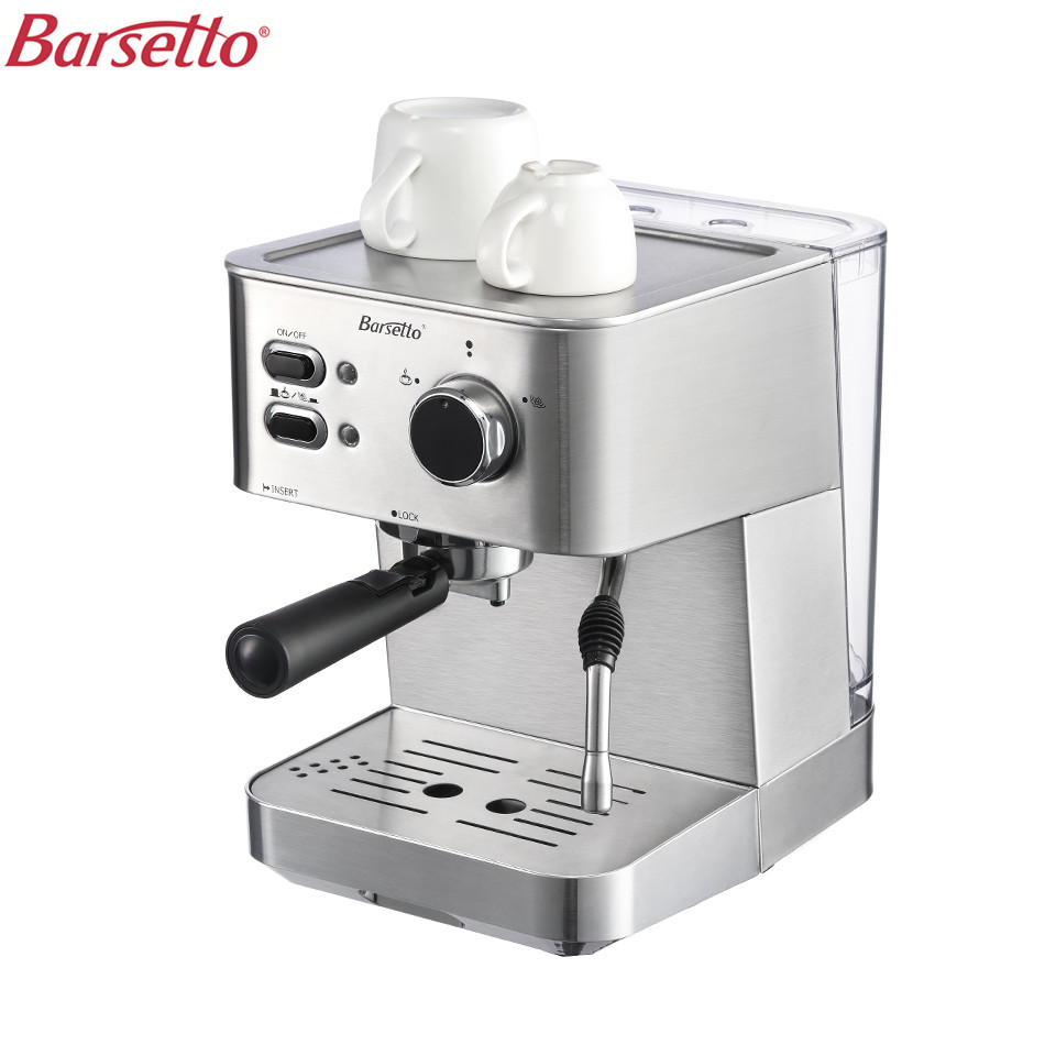 Barsetto BAA682E 220V 1050W Coffee Machine Coffee Maker Espresso Maker For Household EU