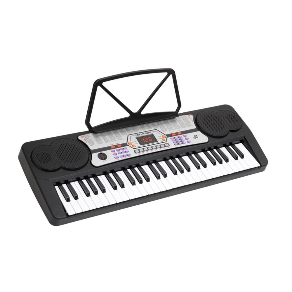 54 Keys Electronic Keyboard LED Electronic Organ 100 Timbres 100 Rhythms Electric Piano With Two Teaching Methods Hot Sale teaching writing methods in afghanistan