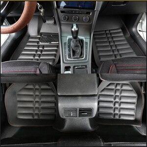 Image 5 - Wenbinge Universal auto boden matte Für volvo xc90 s60 v40 s40 xc60 c30 s80 v50 xc70 wasserdichte auto zubehör styling auto teppiche