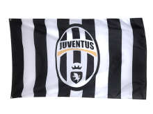 football flags  soprts   tearm flags black juventus 3X5ft 150X90cm flag custom