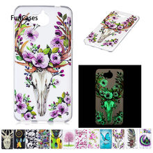 Luminous Case For Huawei Y5 2017 MYA-L22 MYA-U29 MYA- L 122 Y5 III TPU Soft Phone Case For Huawei Y 5 2017 MYA L22 U29 Phone Bag(China)