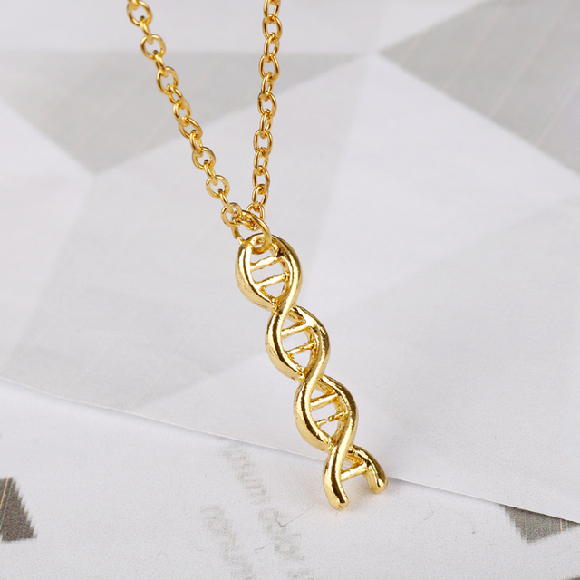 pendant science women dna hot accessories molecule for biology new wholesale jewelry brand product arrival necklace